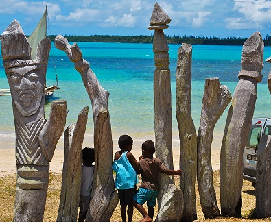 Bay St. Maurice Ile des Pins New Caledonia