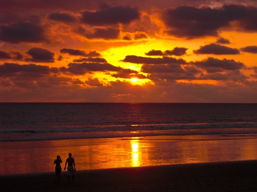 Sunset in Costa Rica Jaco Beach