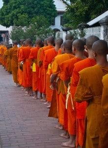 Morning Alms Luang Prabang Laos