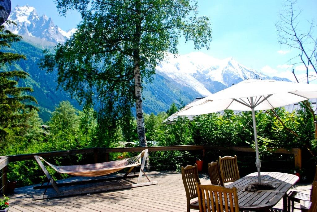 Vert et Blanc Chamonix France