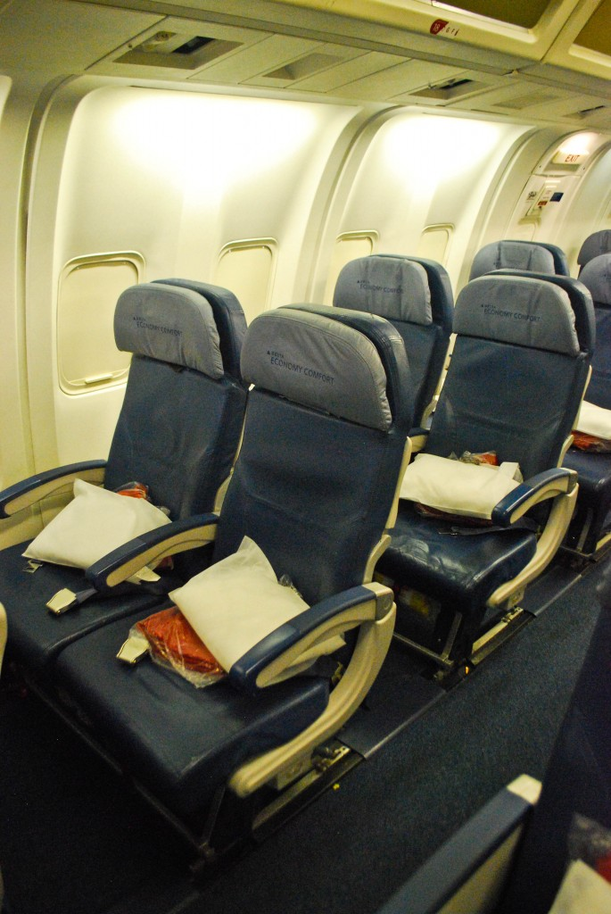 Delta Economy Comfort - Photo of the Day - Round the World