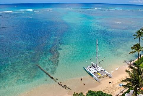 Catamaran Waikiki Hawaii