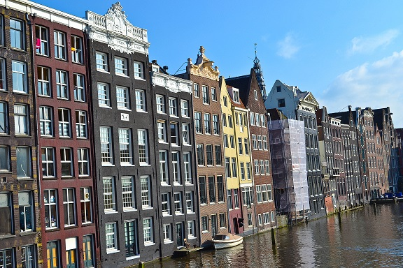 canals Amsterdam Holland
