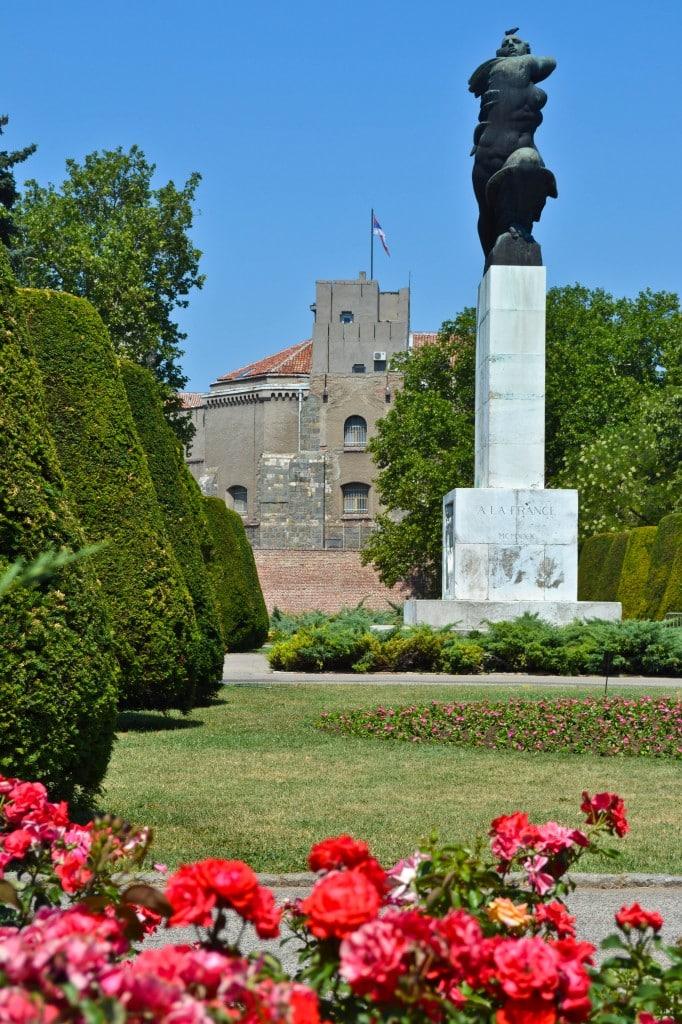 Kalemegdan Citadel Belgrade Serbia
