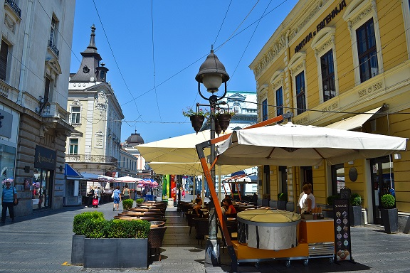 Knez Mihailova Belgrade Serbia