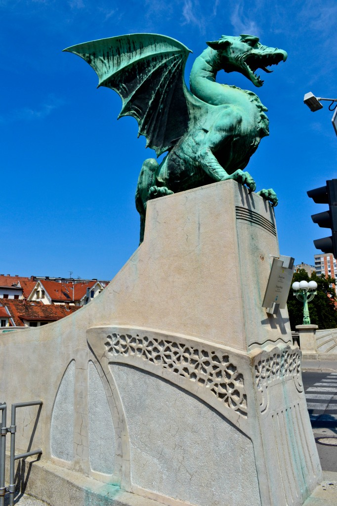 Dragon Bridge Ljubljana Slovenia