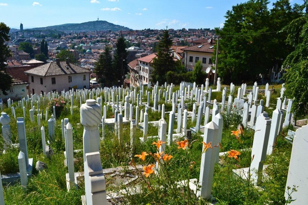Cemetery Sarajevo Bosnia and Herzegovina