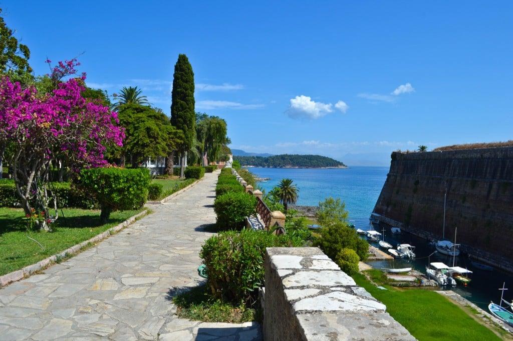 Corfu Old Town Corfu Greece