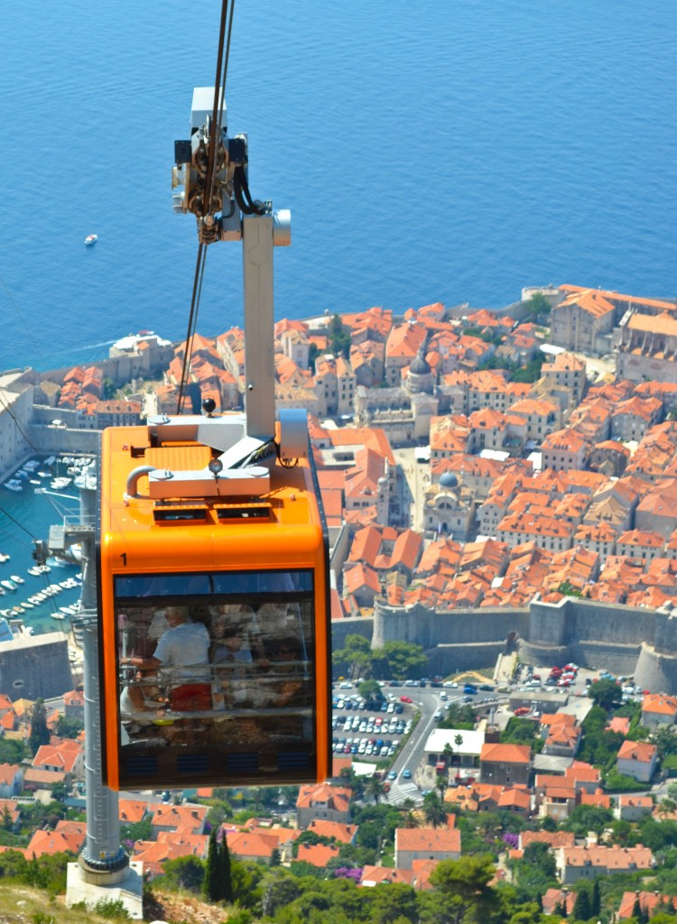 Cable Car Dubrovnik Croatia