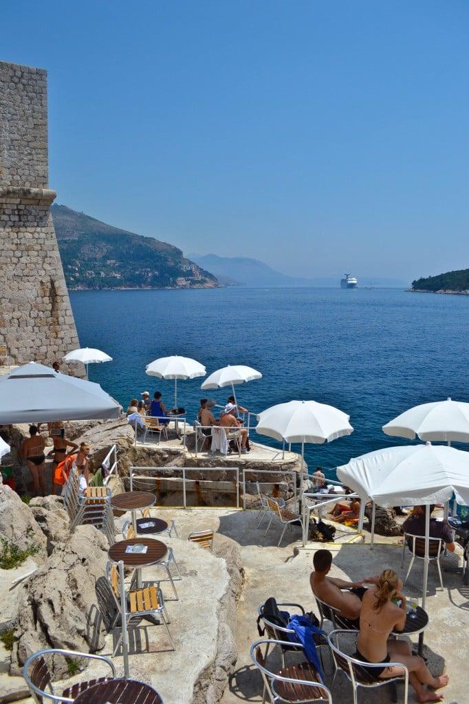 Cafe Bard Mala Buza Dubrovnik Croatia