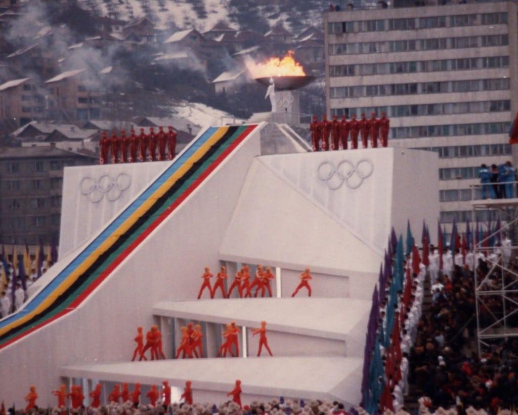 1984 Olympics Sarajevo Bosnia