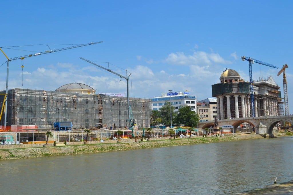 Skopje 2014 project Macedonia