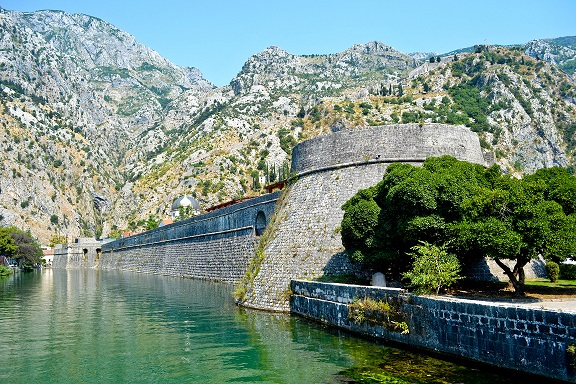 City Walls Kotor Montenegro