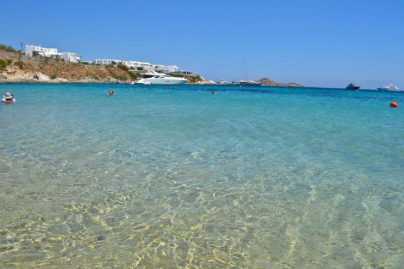 Platis Gialos Beach Mykonos