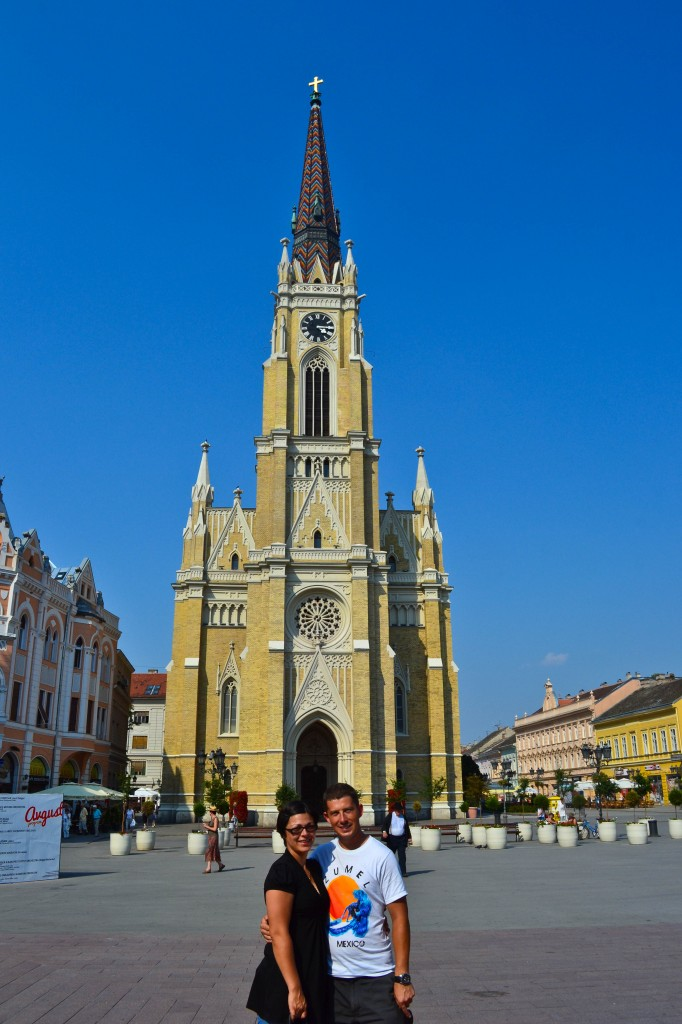 Cathedral Novi Sad Serbia