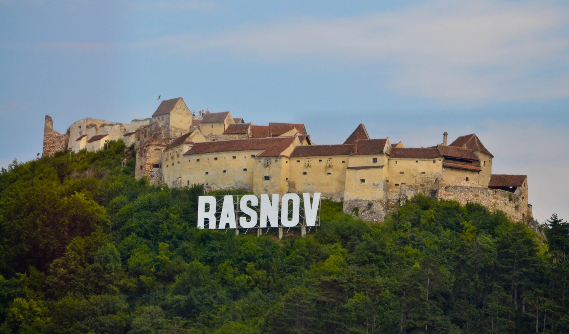 Rasnov Fortress Brasov Romania Transylvania