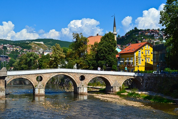 Latin Bridge Sarajevo Bosnia and Herzegovina