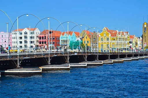 Queen Emma Bridge Willemstad Curacao