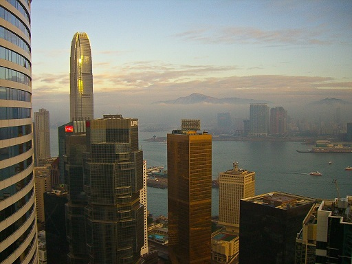 Hong Kong sunrise