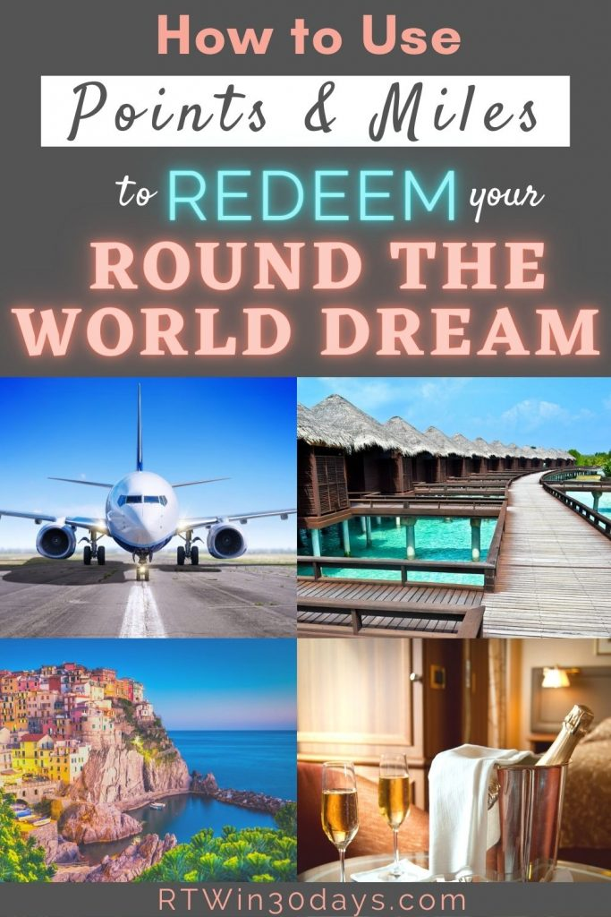 Airline Miles Around the World Travel