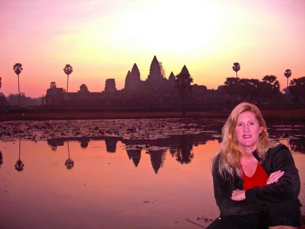 Sunrise at Angkor Wat Cambodia