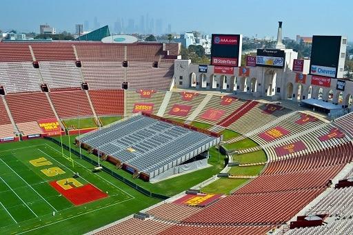 LA Memorial Coliseum Los Angeles