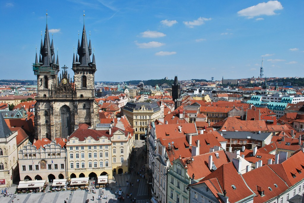 Old Town Square Prague Czech Republic