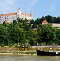 Cruising the Danube to Bratislava Slovakia