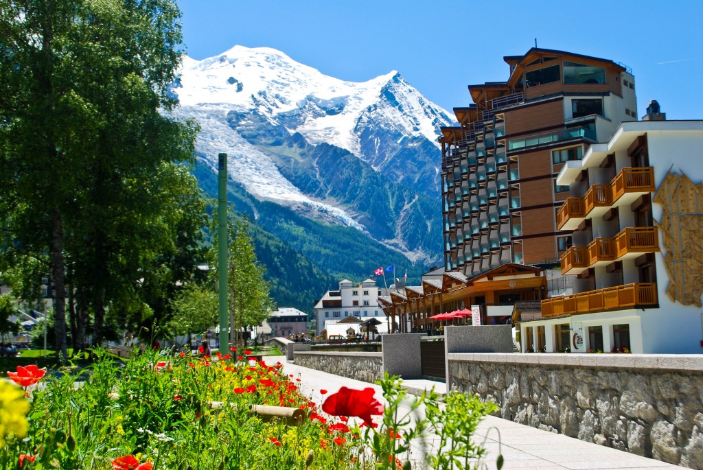 Chamonix France Mont Blanc French Alps