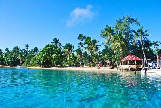 Pangaimotu Island Tonga
