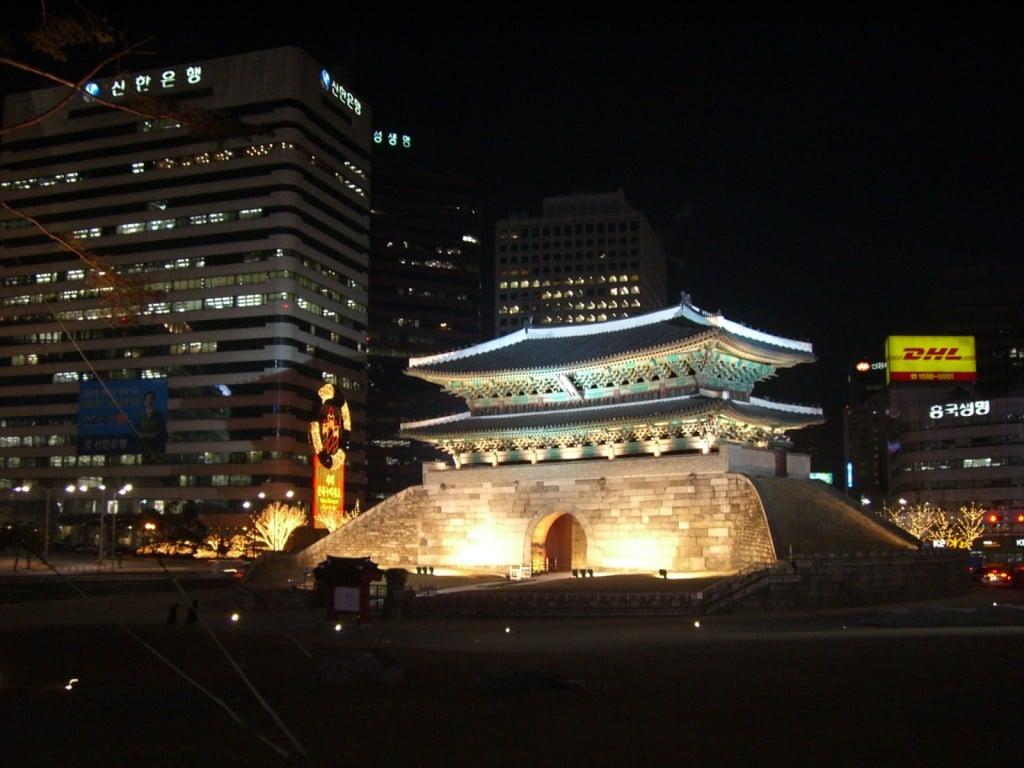 Namdaemun Great Southern Gate Seoul South Korea