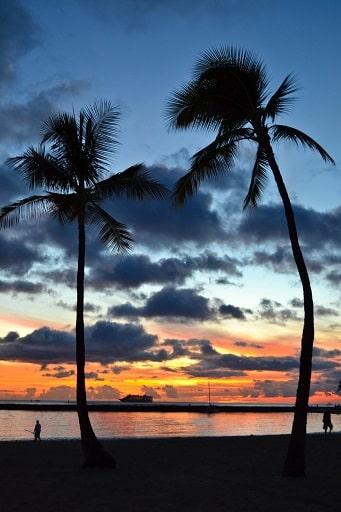 Sunset Waikiki Hilton Hawaiian Village, Waikiki