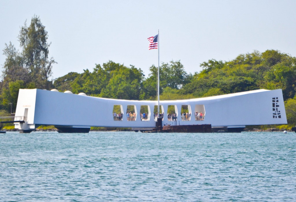 Arizona Memorial Pearl Harbor Oahu Hawaii