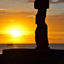 Photo of the Day – Sunset from Ahu Tahai Easter Island