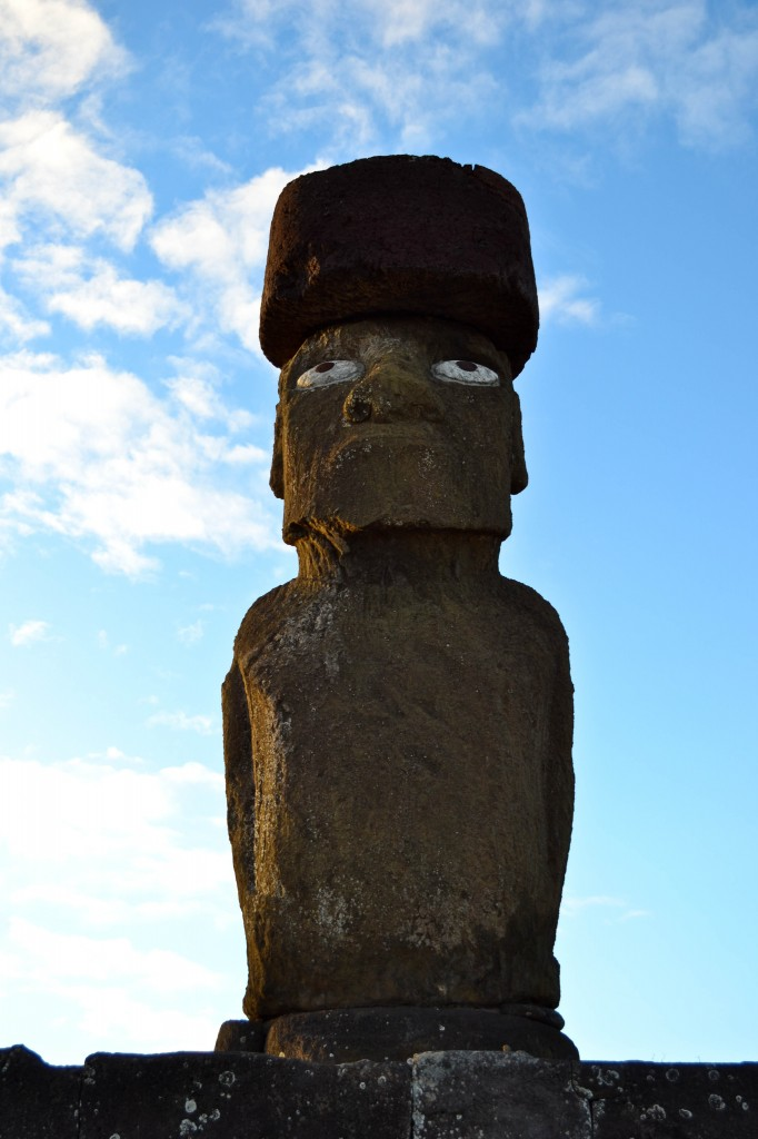 Moai Ahu Tahai Easter Island