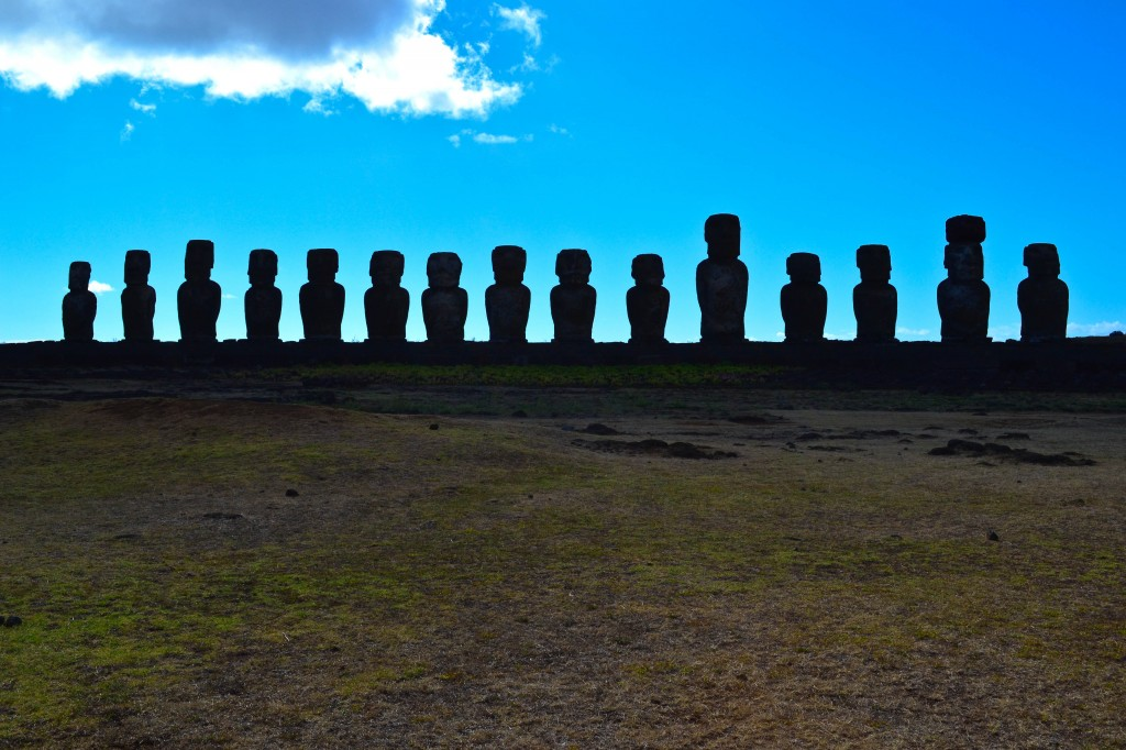 Ahu Tongariki Easter Island Chile