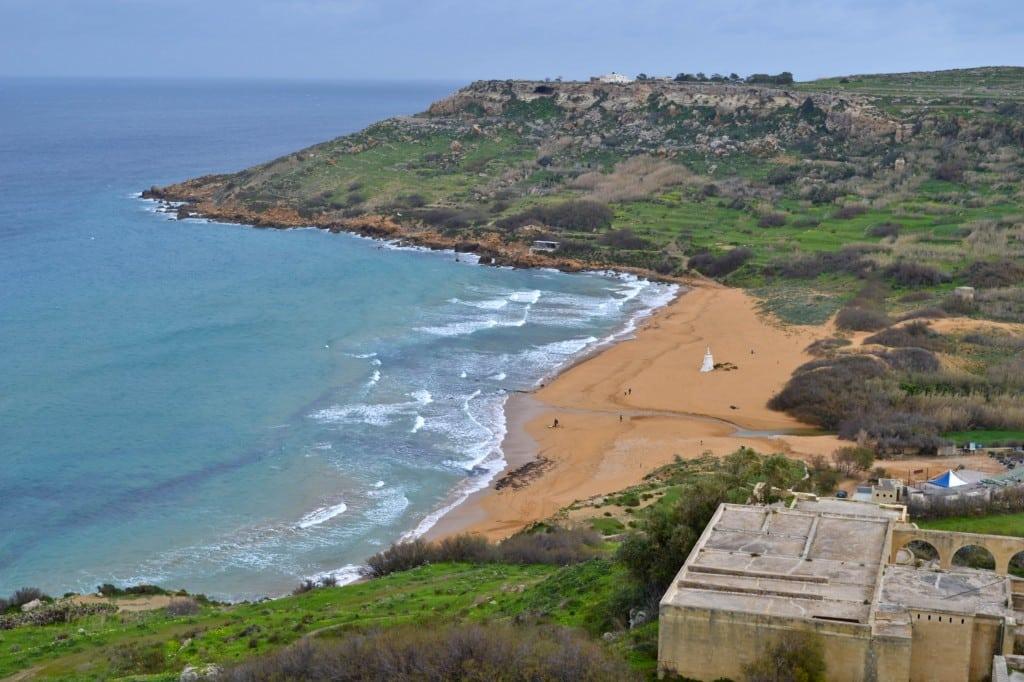 Ramla Bay Gozo Malta