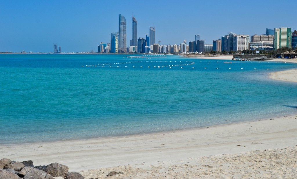 beach Abu Dhabi UAE