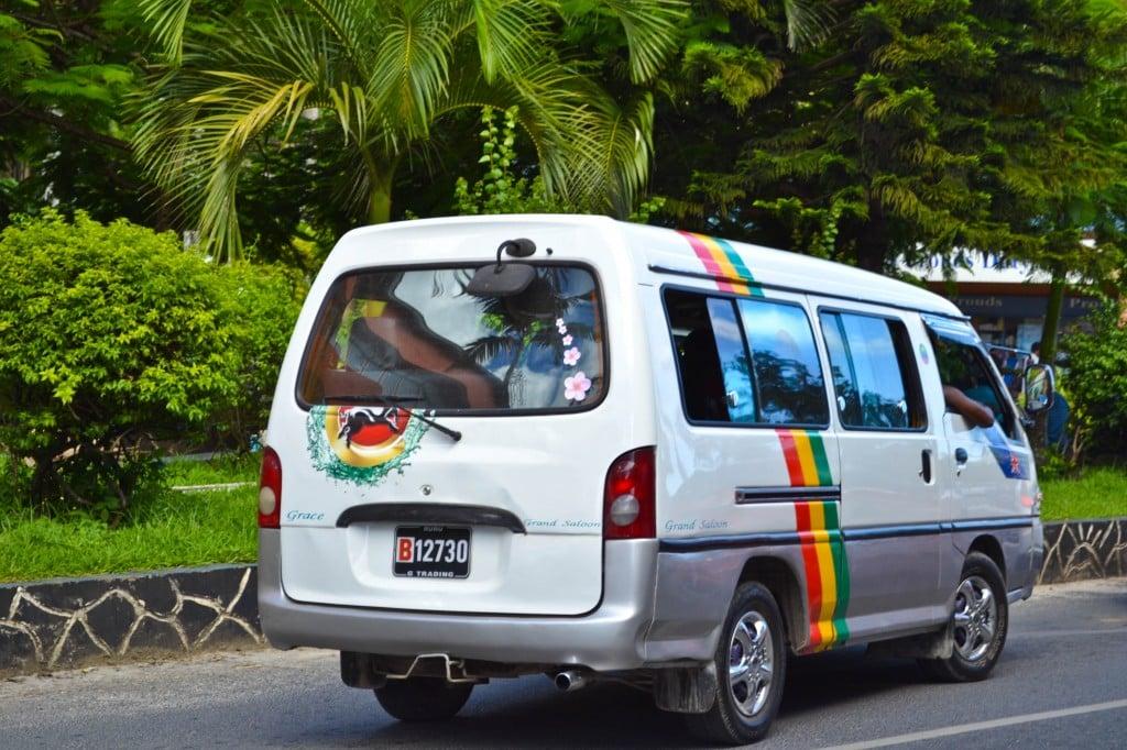 Vanuatu bus system