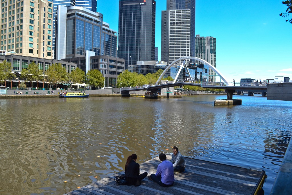 Yarra River Melbourne Australia