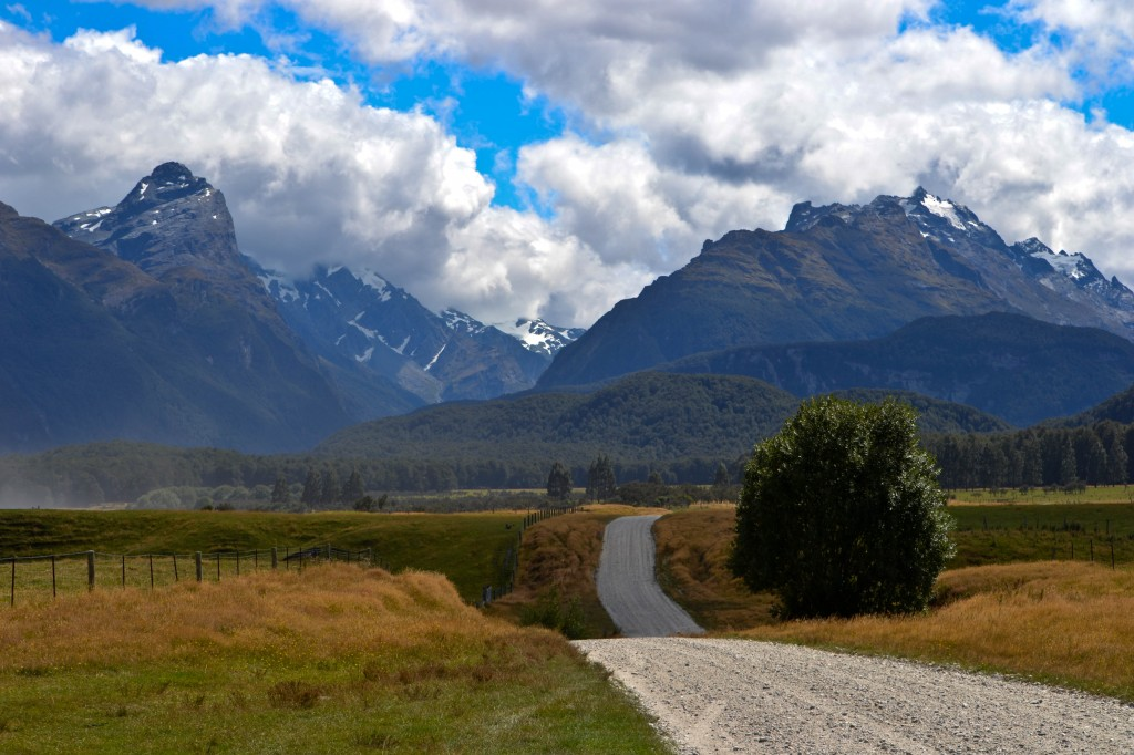 Mount Aspiring National Park South Island New Zealand