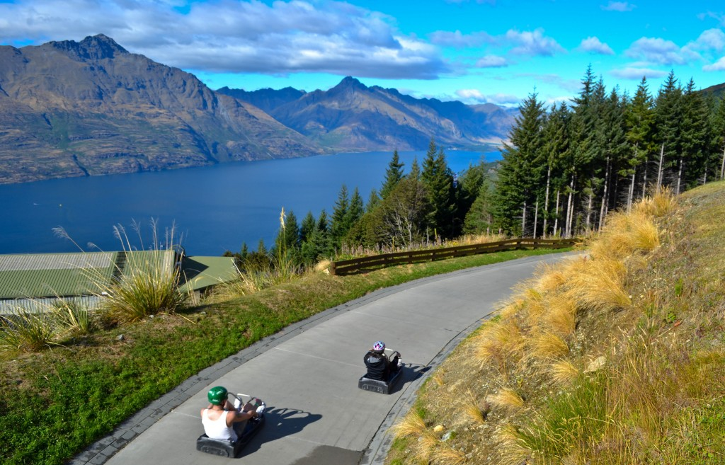 Luge Ride Queenstown New Zealand