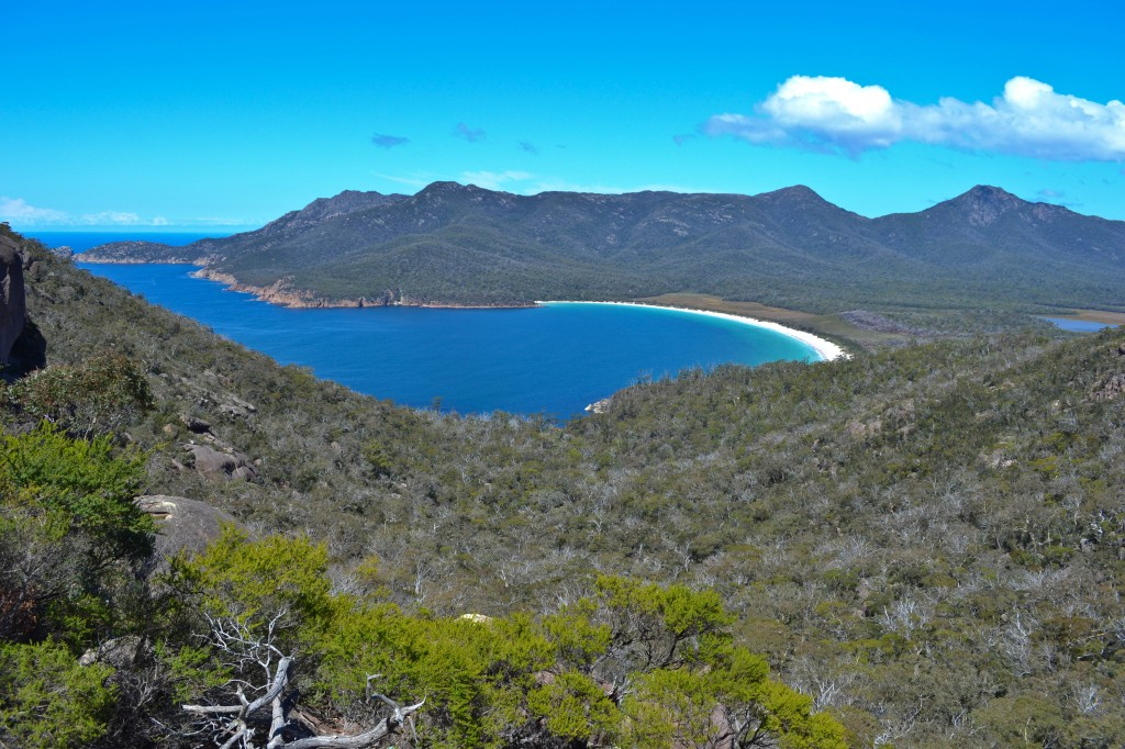 Wineglass Bay Freycinet National Park Tasmania