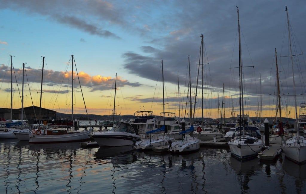 Sullivan's Cove Hobart Tasmania