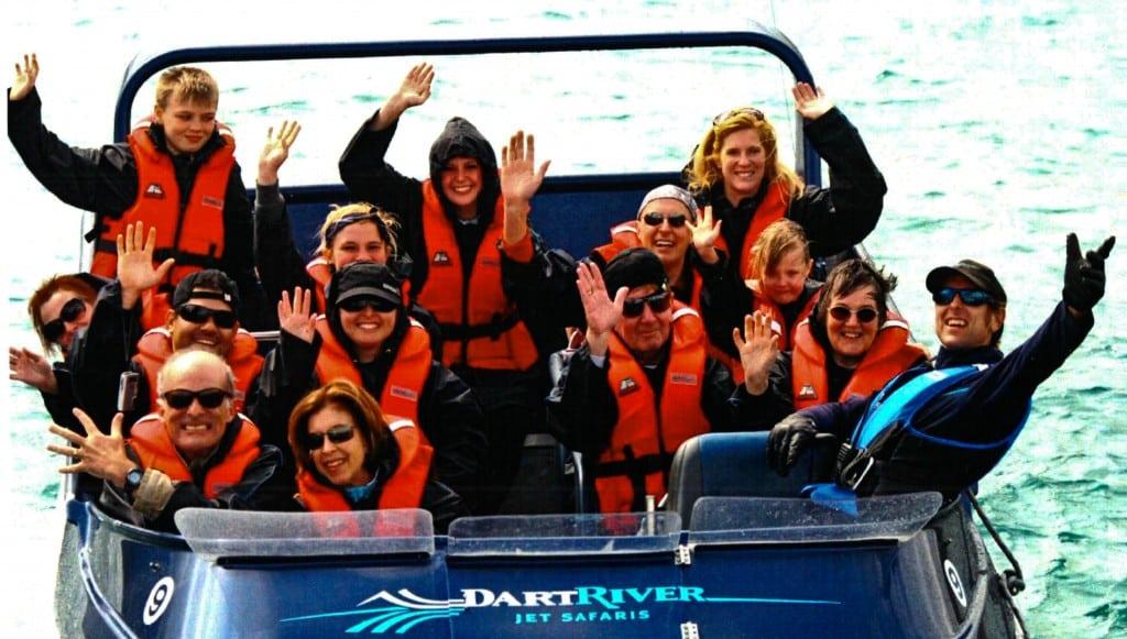 Jetboat ride Queenstown New Zealand