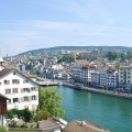 Limmat River Zurich Switzerland
