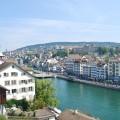 Limmat River Zurich Switzerland