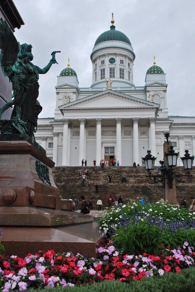 Helsinki Cathedral Senate Square Helsinki FInland