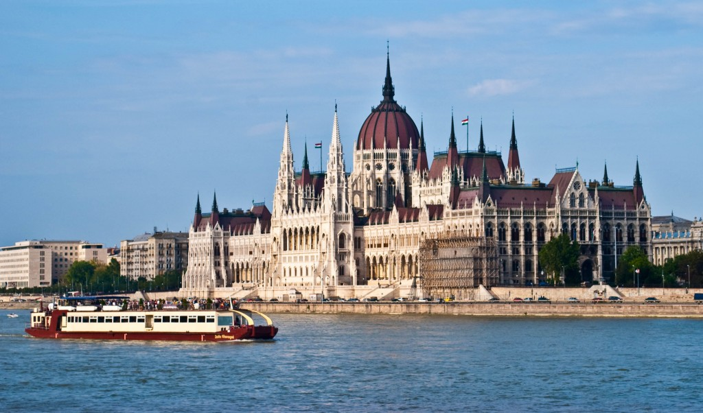Hungarian parliament Budapest Hungary