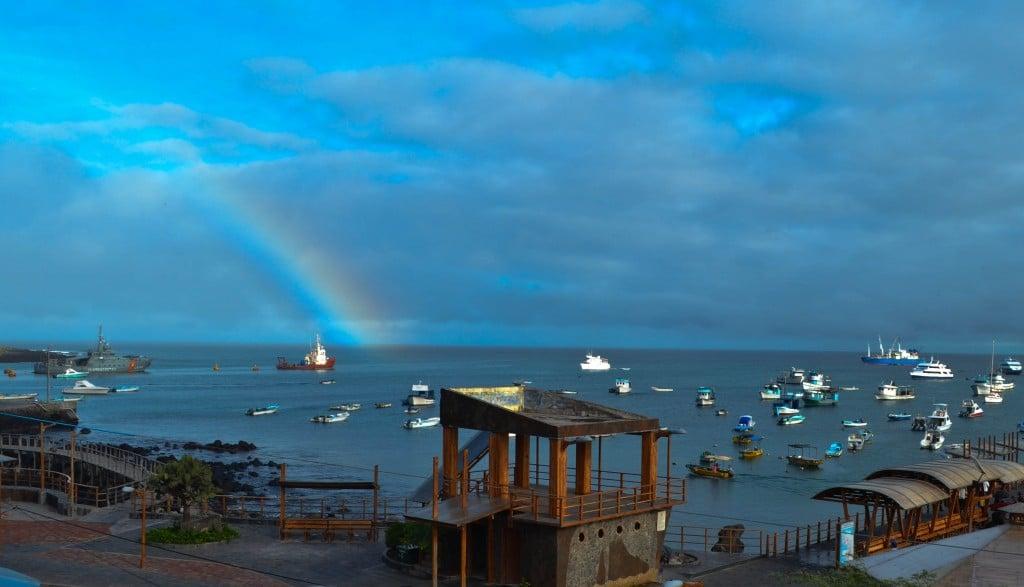 Rainbow San Cristobal Galapagos